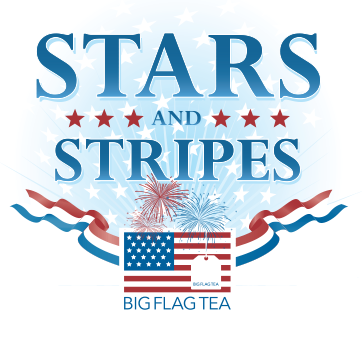 Stars and Stripes tea logo
