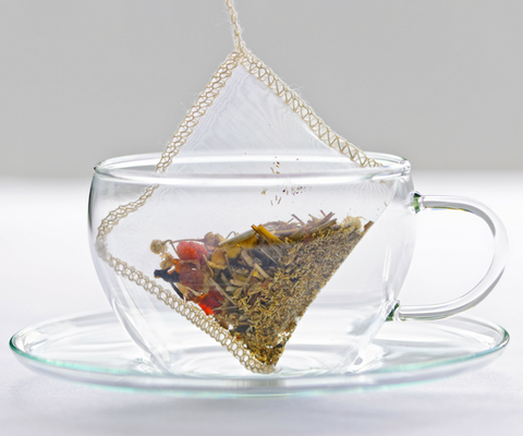 The tea bag was invented in the U.S.