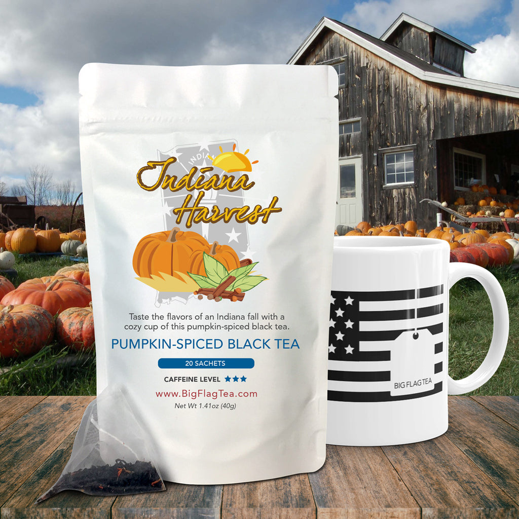 Pumpkin-Spiced Black Tea