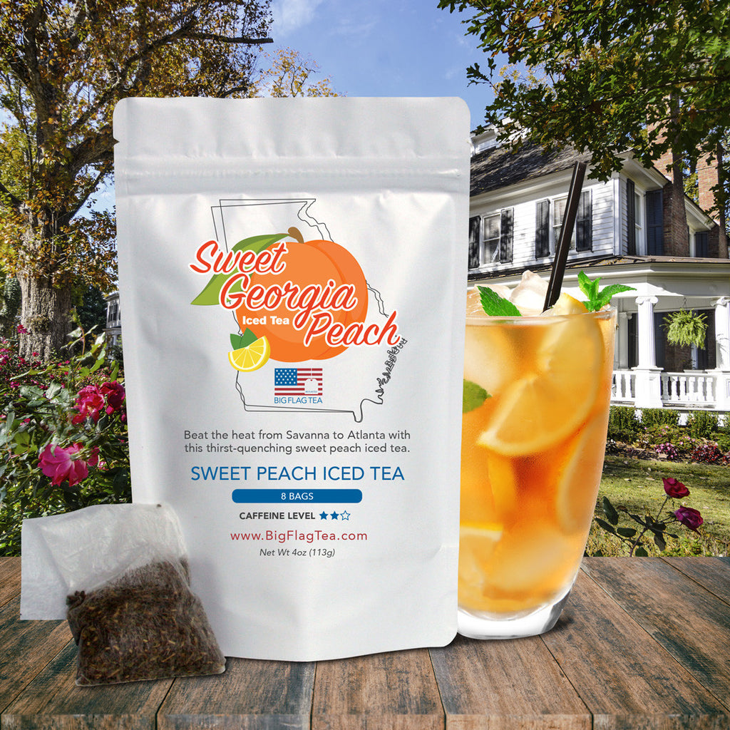 Sweet Georgia Peach Iced Tea