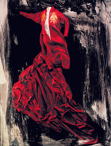 Ishioka's Costume design for the movie,Bram Stoker's Dracula (1992), directed by Francis Ford Coppola.