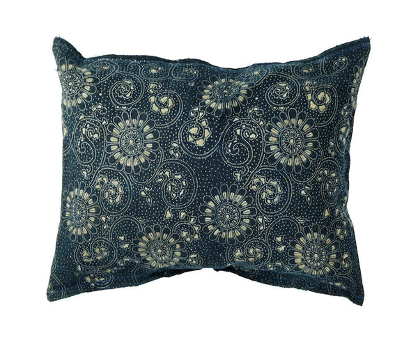 Katazome Fabric Pillow 16 x 12""