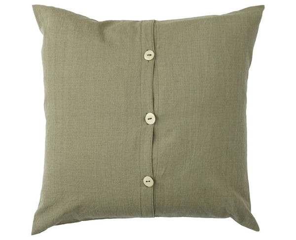 "Ceramic Button Pillows 18 x 18"" (Kakishibu)"