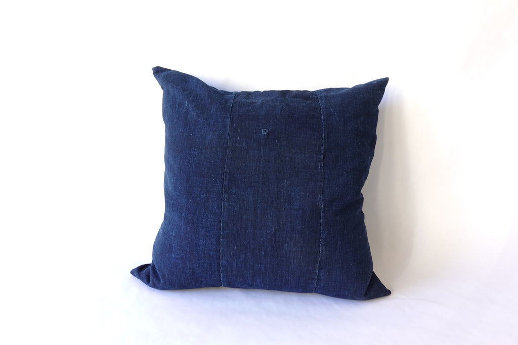 "Vintage Indigo Pillow (18 x 18"")"