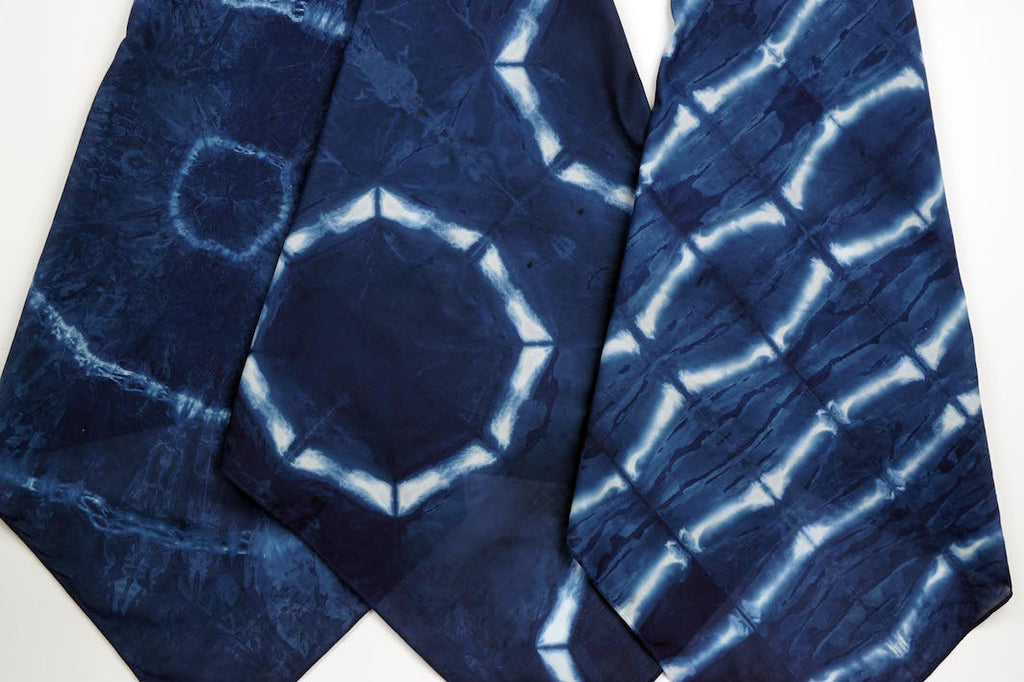 Indigo Dye Shibori Workshop (Bring Your Own Dyeable)