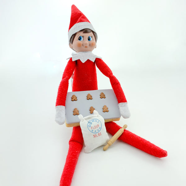 Baking Elf on a shelf