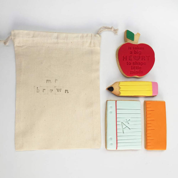 A Cookie Pack for a Loved Teacher