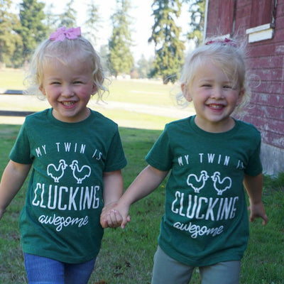 Clucking Awesome - O Twins Clothing Co