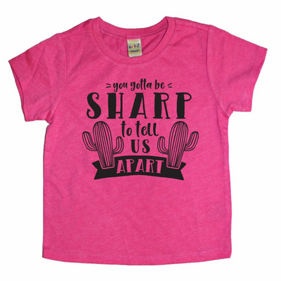 Sharp Apart - O Twins Clothing Co