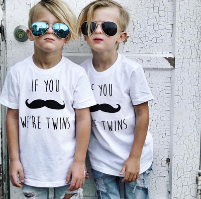 If You Mustache - Tee - O Twins Clothing Co