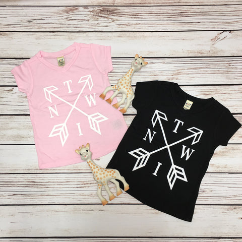 Twin Arrow - V-Neck - O Twins Clothing Co
