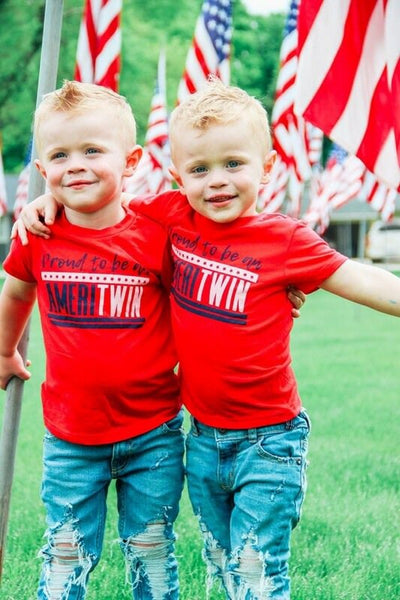 Ameritwin Tee - O Twins Clothing Co