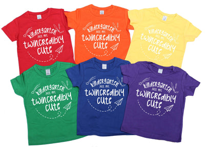 -Kindergarten Just Got Twincredibly Cute! - O Twins Clothing Co