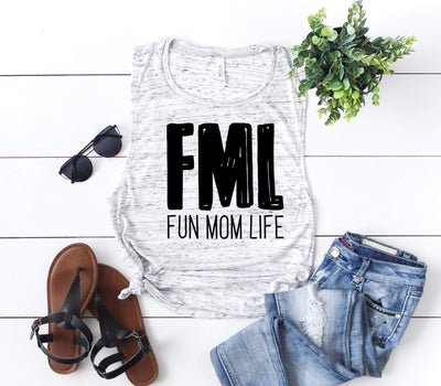 FML Muscle Tank - O Twins Clothing Co
