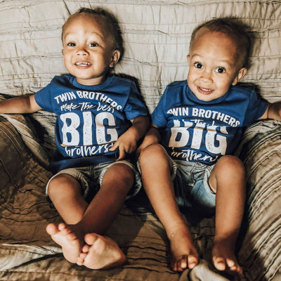 Twin Brothers Make the Best Big Brothers - O Twins Clothing Co