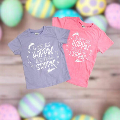Twins Are Hoppin' And Never Stoppin' - O Twins Clothing Co