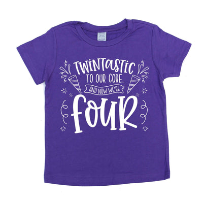 Twintastic To Our Core, And Now We're FOUR! - O Twins Clothing Co