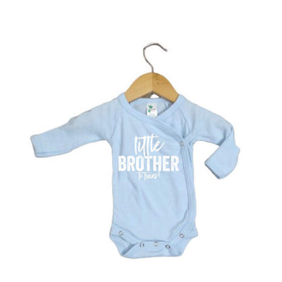 Little Brother/Little Sister to Twins PREEMIE/NEWBORN - O Twins Clothing Co
