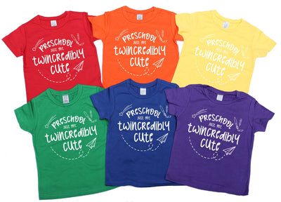 -Preschool Just Got Twincredibly Cute! - O Twins Clothing Co