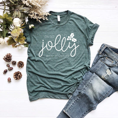 Jolly Twin Mommy - O Twins Clothing Co