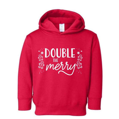 Double The Merry (HOODIE OPTION) - O Twins Clothing Co
