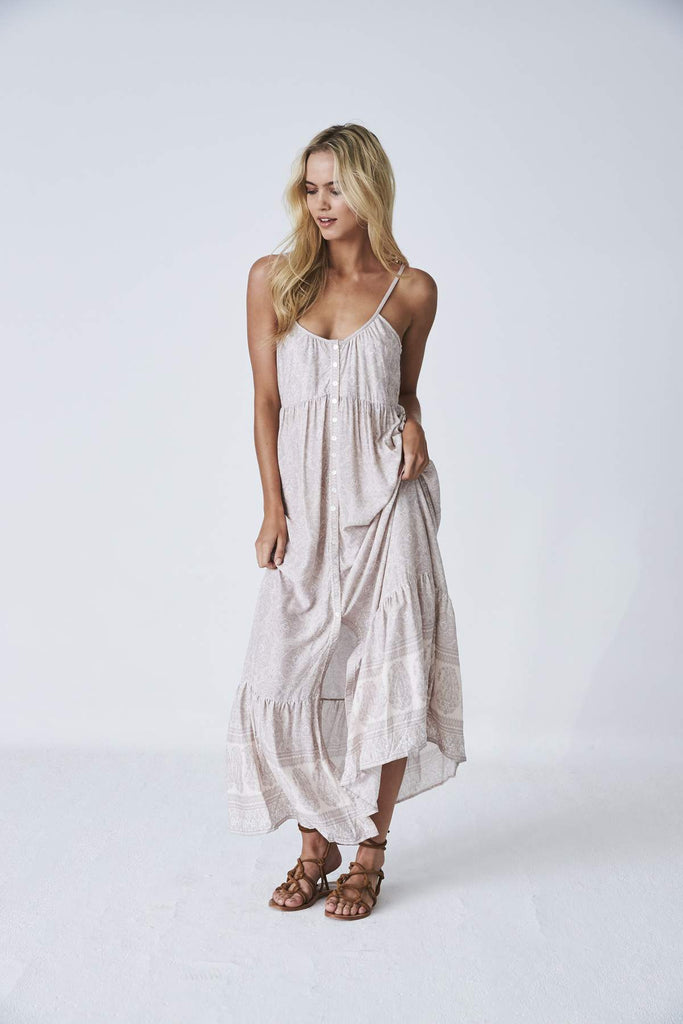 Kashmir Maxi Dress Sunshine Field