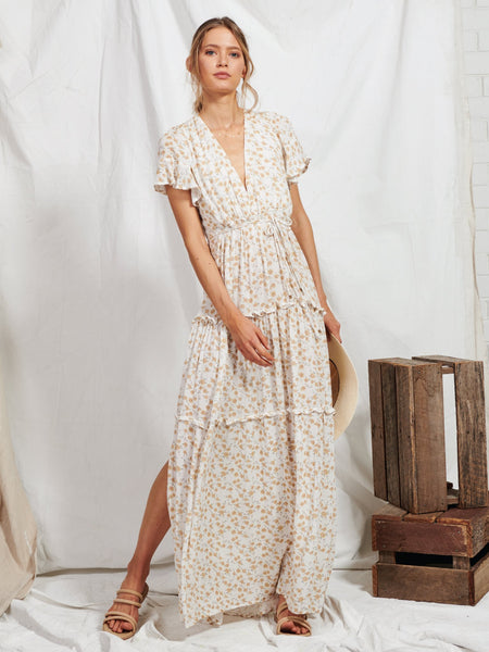 Jax Ditsy Maxi Dress