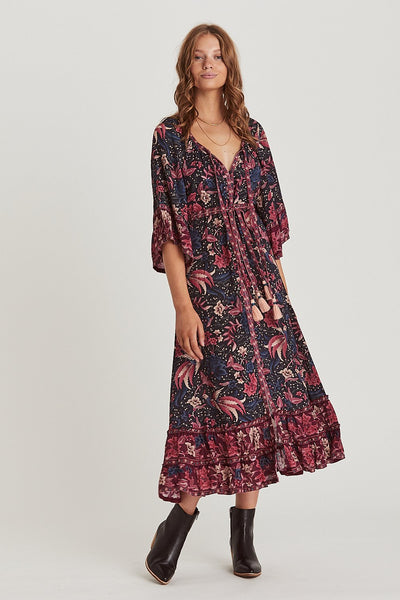 Ilona Maxi Dress in Twilight