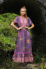 Sahara Maxi Dress Purple Potion