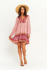 Audrey Tunic Dress Pink Plum