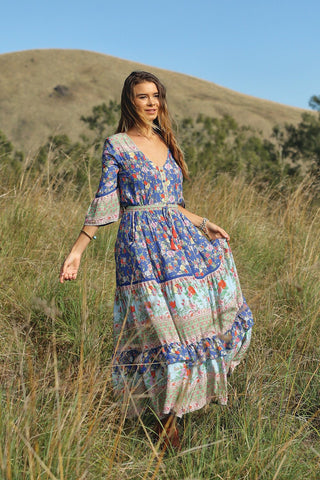 Havillah Maxi Dress - Lapis Lazuli