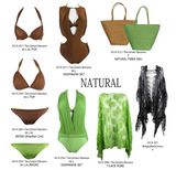 Natural Swimsuit Set