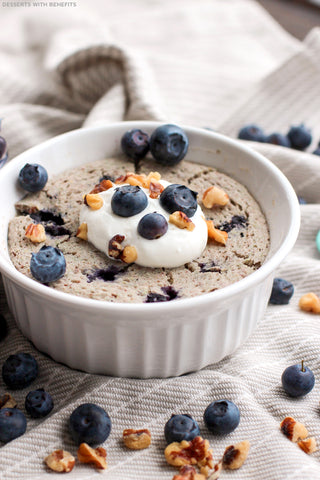 Healthy Blueberry Muffin