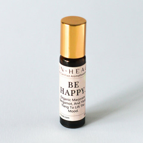 Hand Craft Aromatherapy Roll On Be Happy KLOSH Christmas Gift Shop
