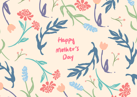Mother's Day Messages & Wishes Printable Post Card