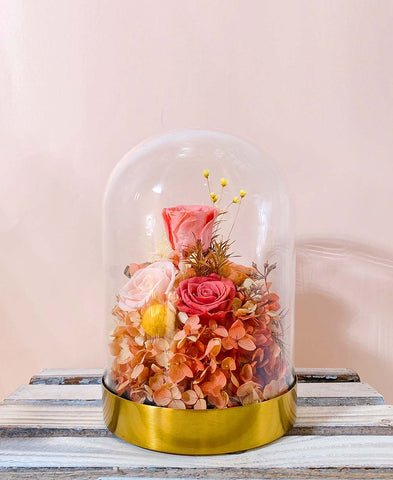 Mother's Day Gift - Preserved Flower Dome