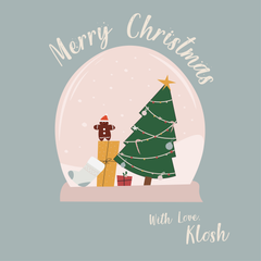 Merry Christmas Greeting From Klosh