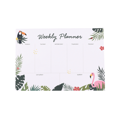 Children's Day Special Weekly Planner Toucan