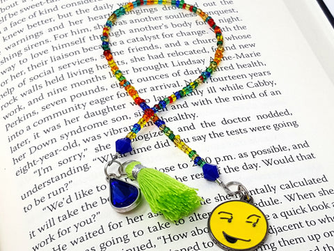 Smiley Face Rainbow Bookmark - ChristalDreamZ