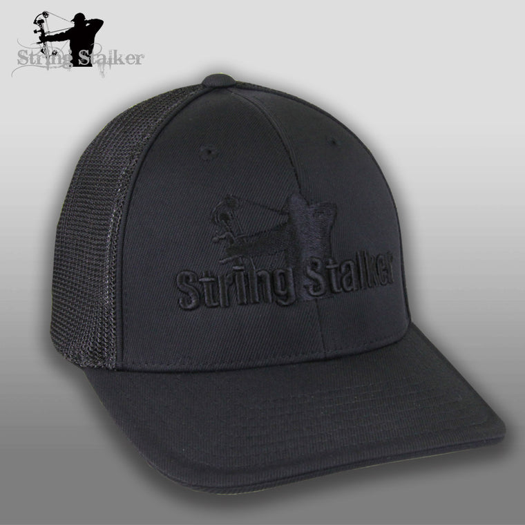 String Stalker Truckermesh Flex Fit Hat - String Stalker