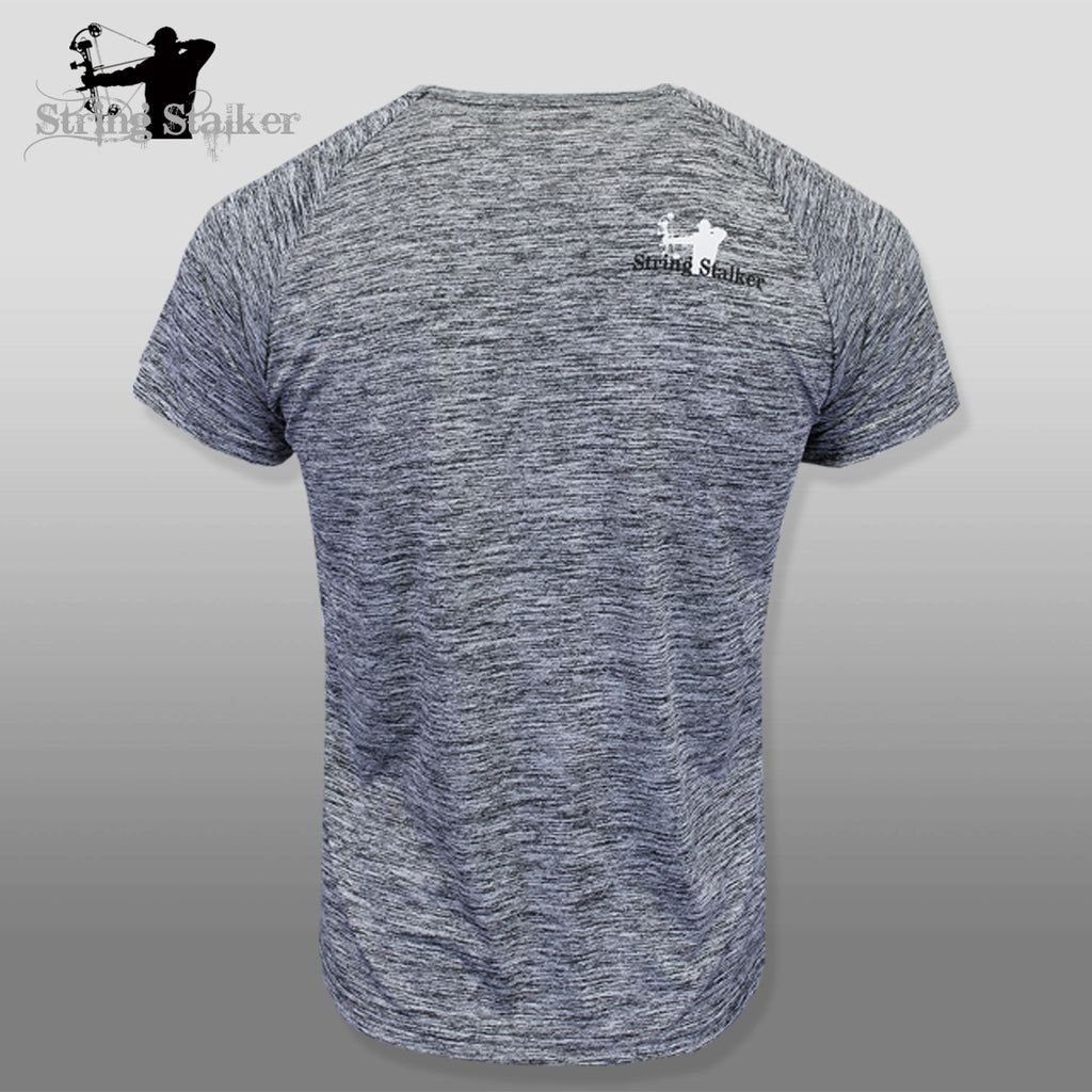 String Stalker Bow Hunting Obsessed Short Sleeve Performance T-Shirt - String Stalker