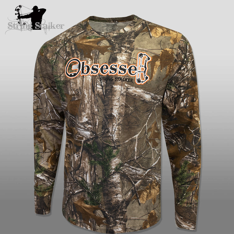 String Stalker Realtree Camo Obsessed Longsleeve T-Shirt