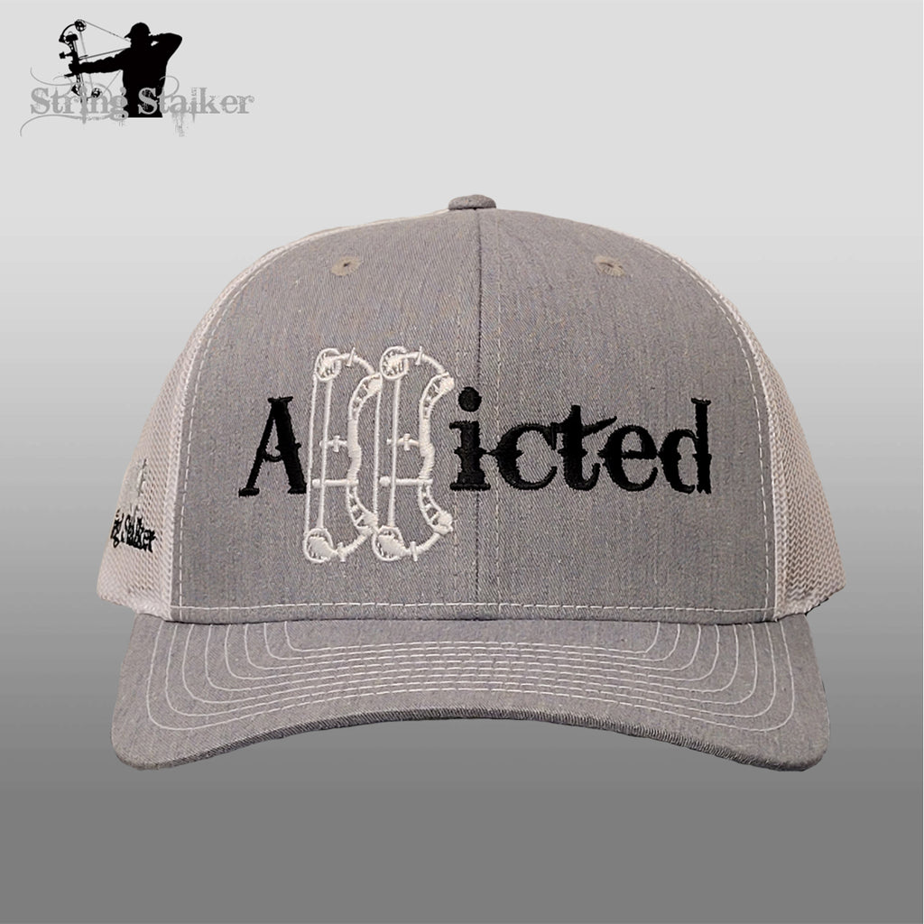New Addicted Trucker hat Grey/White