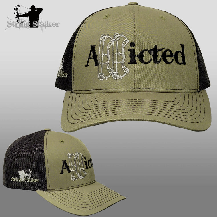 NEW Addicted Trucker Hat Loden/Black