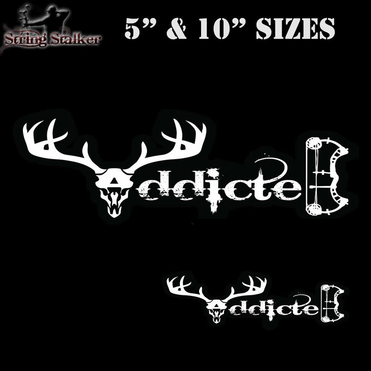 "New 5""  And 10'' Addicted Decal                                                                                            From"