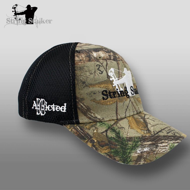 String Stalker Airmesh Flex Fit Hat - Realtree - String Stalker