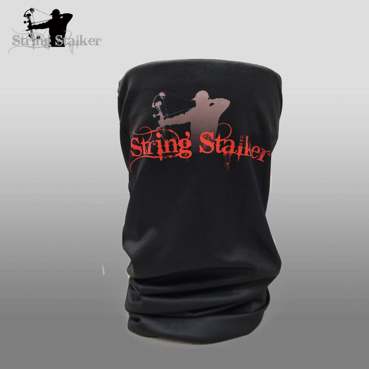 String Stalker Black Neck Gaiter
