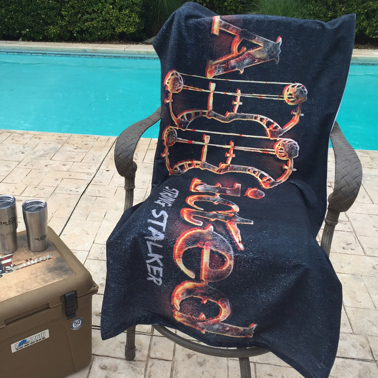 String Stalker Addicted Beach Towel - String Stalker