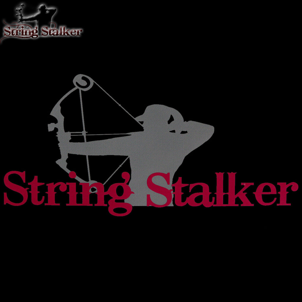 String Stalker Ladies Bow Hunting Lifestyle Decal - String Stalker