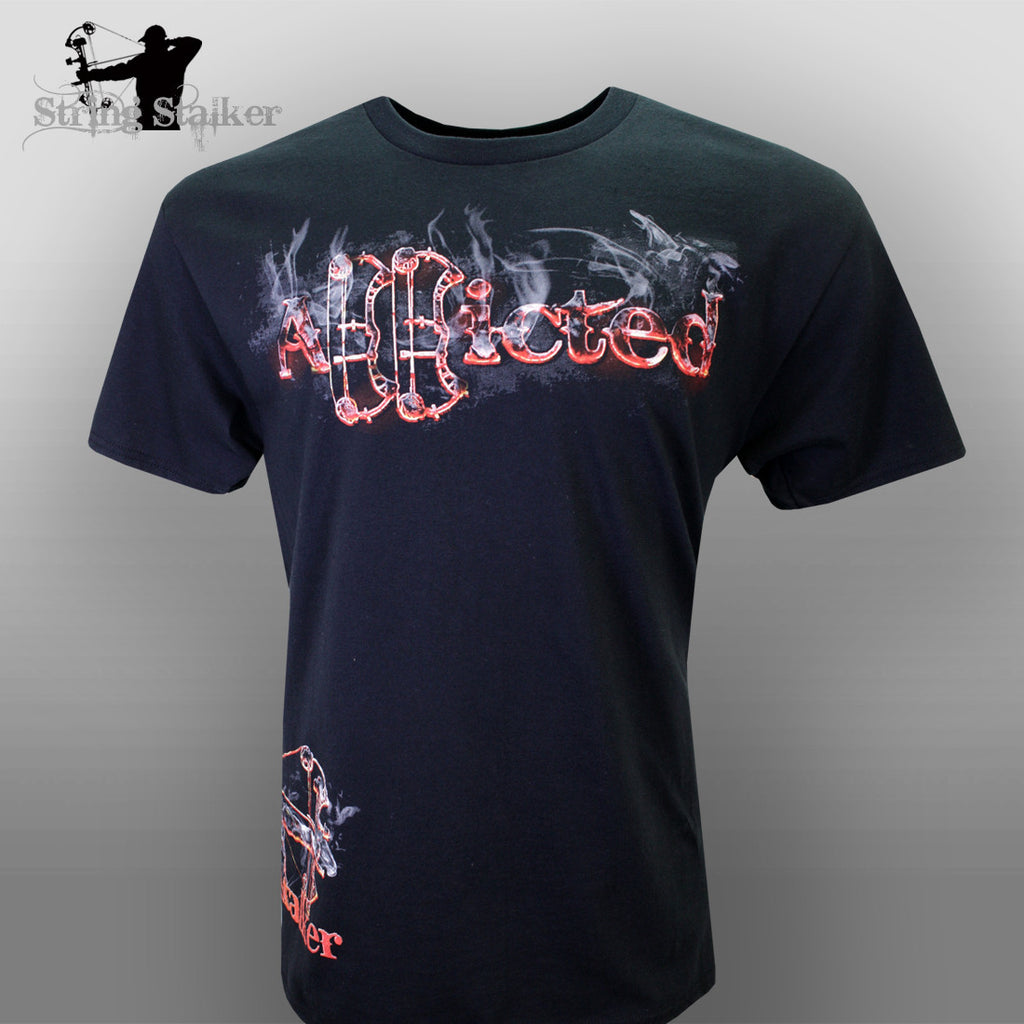 String Stalker Scorched Addicted T Shirt - String Stalker
